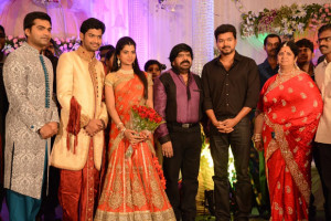 Simbu Sister llakkiya Wedding Reception Photos Gallery 8