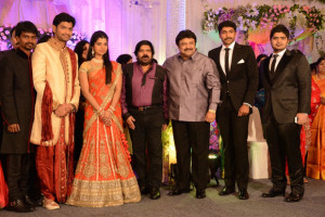 Simbu Sister llakkiya Wedding Reception Photos Gallery 9