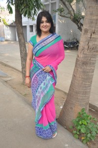 Sona Latest Sexy Images in Saree