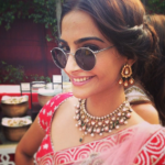 Sonam Kapoor Photos At Her Friend Wedding