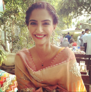 Sonam Kapoor At Her Friend Marriage Function