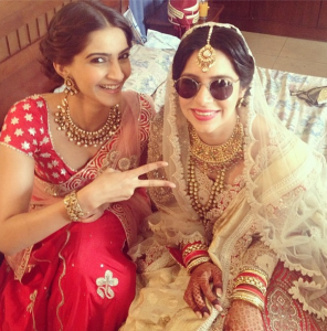 Sonam Kapoor Photos At Her Friend Wedding 6