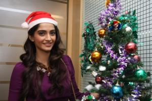 Sonam Kapoor Unseen Christmas Event Photos