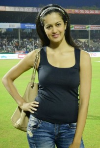 Subra Ayyappa Hot Photos At CCL 4