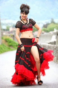 Taapsee Latest Hot Navel Show Photos 1
