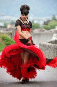Taapsee Latest Hot Navel Show Photos 4