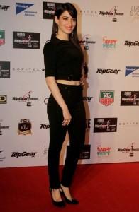 Tamanna Cute Smiling Stills At Top Gear Awards 2013 Event