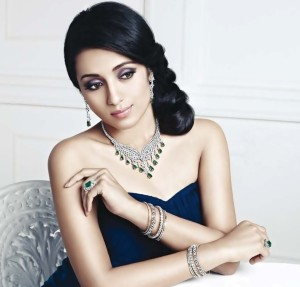 South Actress Trisha Photoshoot For NAC Jewellers Ad