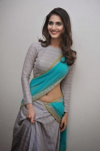 Vaani Kapoor Hot Navel Photos At Aaha Kalyanam Movie Press Meet 6