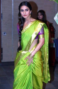 Vaani Kapoor Saree Photos At Aaha Kalyanam Audio Launch 4