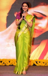 Vaani Kapoor Saree Photos At Aaha Kalyanam Audio Launch 6