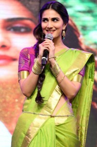 Vaani Kapoor Saree Photos At Aaha Kalyanam Audio Launch 7