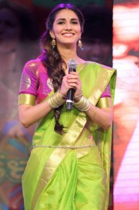 Vaani Kapoor Saree Photos At Aaha Kalyanam Audio Launch 8