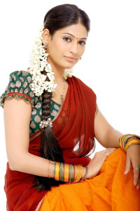 Tamil Actress Vijayalakshmi Cute Pictures in Half Saree