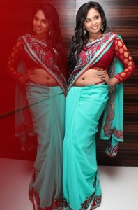 Aarushi Hot Spicy Navel Show Stills