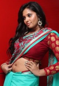 Tamil Actress Aarushi Hot Navel Show Photos