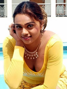 Actress Abhinayasri Hot Cleavage Show Pictures