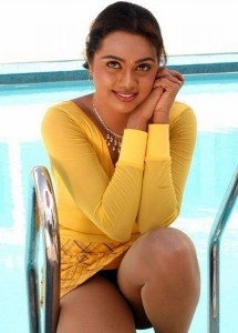 Abhinayasri Hot Pics At Swimming Pool