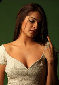 Aditi Agarwal Hot Cleavage Show Photos Gallery
