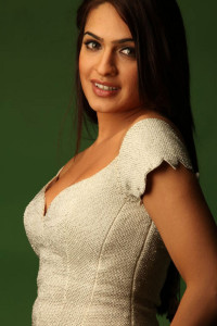 Actress Aditi Agarwal Hot Cleavage Show Images
