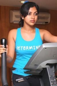 Amala Paul Hot Gym Workout Pics