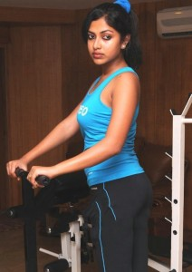 Amala Paul Sexy Images in Gym