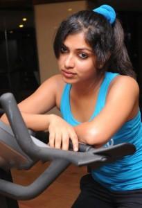 Actress Amala Paul Hot Gym Workout Photos