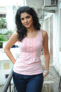 Actress Deeksha Seth Cute Images in Jeans