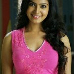 Actress Samantha Cute Stills in Pink Dress