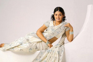 Actress Vandana Menon Sexy Saree Photos