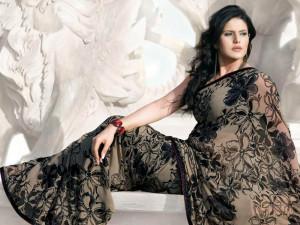 Zarine Khan Saree Stills