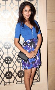 Actress Aditi Chengappa Hot Pictures in Mini Skirt