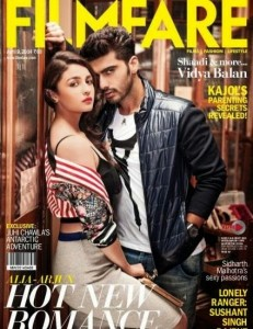 Alia Bhatt Filmfare Magazine April 2014 Pictures