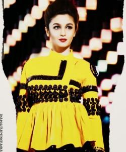 Alia Bhatt Latest Photoshoot For The Man Magazine March 2014