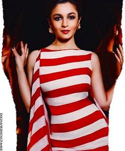 Alia Bhatt New Stills in The Man Magazine Mar 2014
