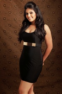 Anjali Hot Photoshoot Photos in Black Dress