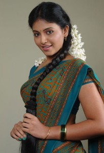Anjali Latest Cute Saree Photos Gallery