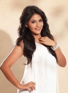 Anjali Unseen Hot Spicy Photoshoot Stills in White Dress