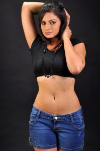 Actress Anuhya Reddy Hot Navel Show Picturues