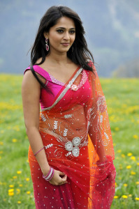 Anushka Spicy Deep Navel Pictures