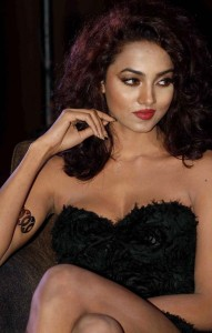 Aradhana Gupta Latest Photos in Black Dress
