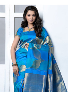Bhavana Cute Photoshoot Images in Saree