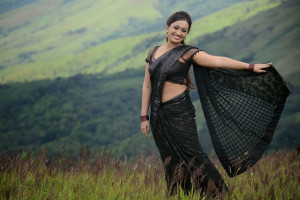 Ester Noronha Hot Navel Photos in Bheemavaram Bullodu Movie