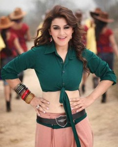 Hansika Motwani Hot Navel Show Photos in Maan Karate Movie