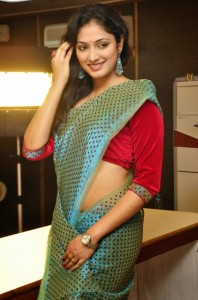 Actress Haripriya Sexy Photoshoot Images in Saree