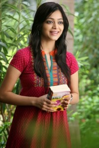 Janani Iyer Cute Smiling Pics From Bhadram Telugu Movie