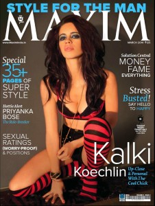Kalki Koechlin Maxim India Magazine March 2014 Photos