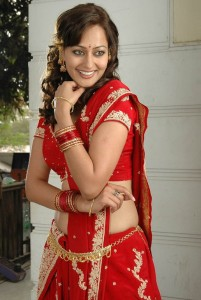 Kaveri Jha Unseen Picturues in Red Dress