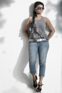 Krishna Prabha Photoshoot Pics in Jeans