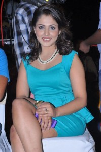 Madhu Shalini Photos At Hrudaya Kaleyam Movie Audio Launch